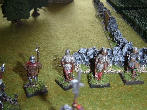 Brabazon crossbowmen advance