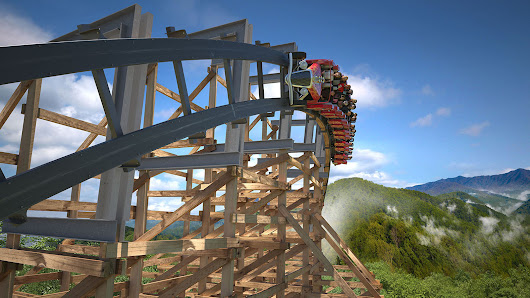 Dollywood's new Lightning Rod coaster will burn rubber from start to finish
