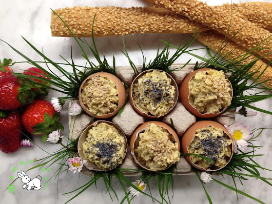 Easter Brunch- Uova ripiene
