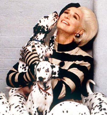 Image result for cruella de vil glenn close 101 dalmatians