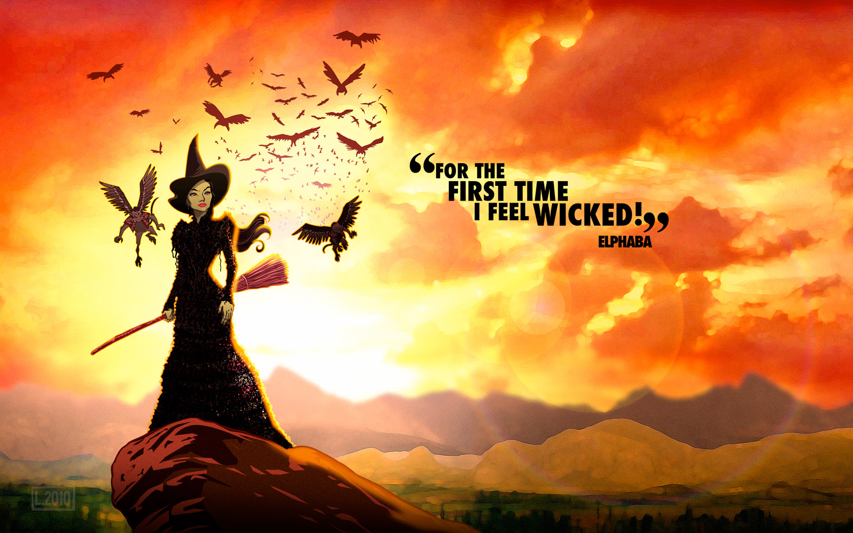 A Smashing Good Time The Wicked Witch Of The West The Hidden