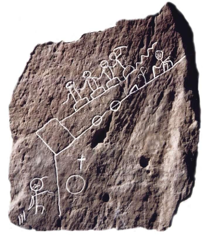 La roca sagrada e1354597279236 La Roca de las Profecías y las señales de los indios Hopi