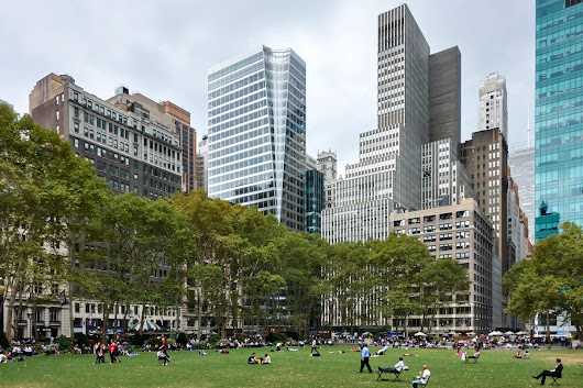 "Pei Cobb Freed on Twitter: ""video: Henry N. Cobb & Gerald Hines @7BryantPark  @Hines @paulgoldberger @bryantparknyc """