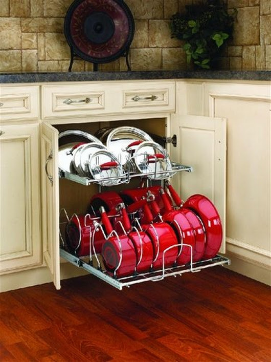 Cabinet Organizers by Rev-A-Shelf