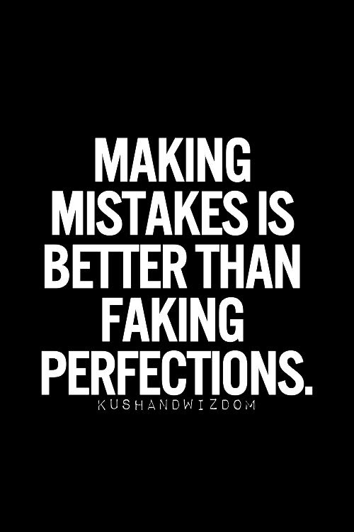 We All Make Mistakes Positive Quotes Inspiration Positive Words