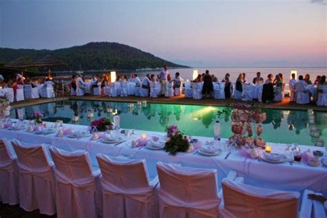 277 best images about Poolside Wedding on Pinterest