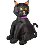 Citi Talent 90-224-087 48 in. Inflatable Lighted Black Cat