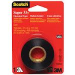 3M 200 Super 33 Plus Electrical Tape .75 x 450 In.