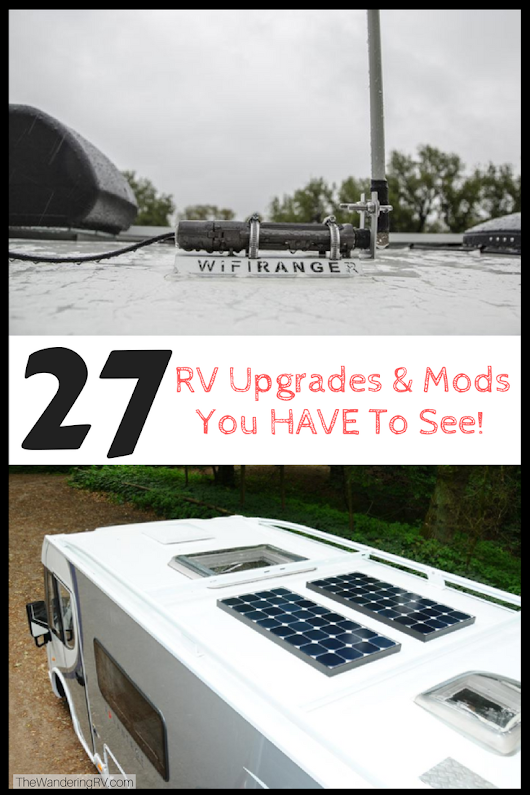 27 RV Upgrades & Mods You HAVE To See (Plus How-To Guides)