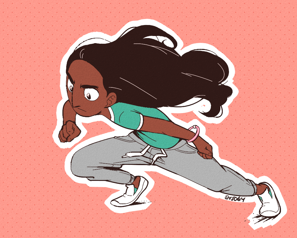 Doodled a Connie to counter my art block!