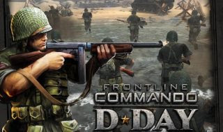 لعبة الحروب RONTLINE COMMANDO: D-DAY