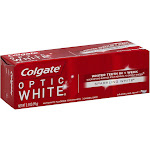Colgate Optic White Toothpaste, Sparkling Mint - 3.5 oz tube