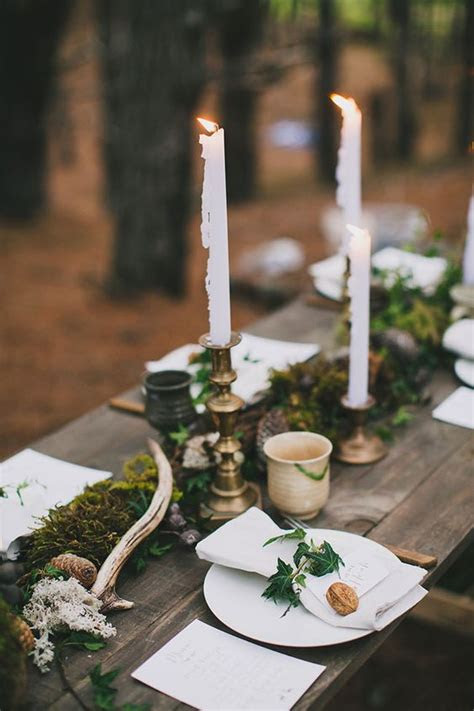 budget friendly moss wedding decor ideas weddingomania