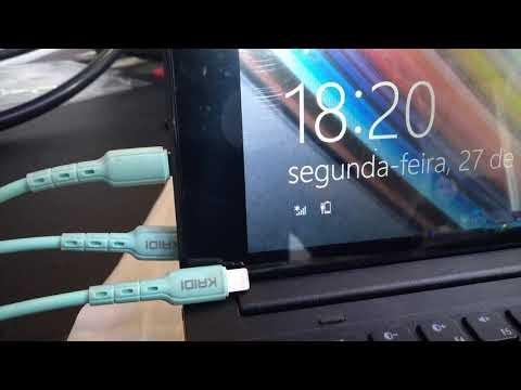 Troca touch e dislpay tablet note F10-30 CCE   Tunis Eletrônica
