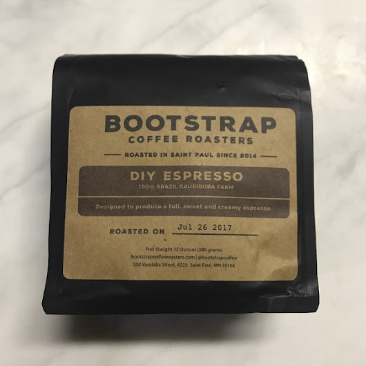 Bootstrap Coffee - DIY Espresso
