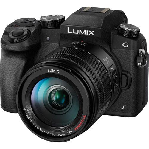 Panasonic Lumix DMC-G7 with 14-140mm Lens