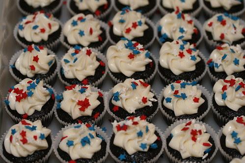 Obama Inaugural Cupcakes
