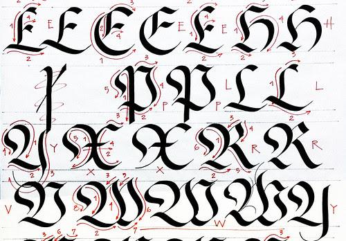 Taller Caligrafía Gótica