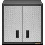 Gladiator 28 Gearbox Full-Door Garage Wall Cabinet with Shelf, Silver Tread