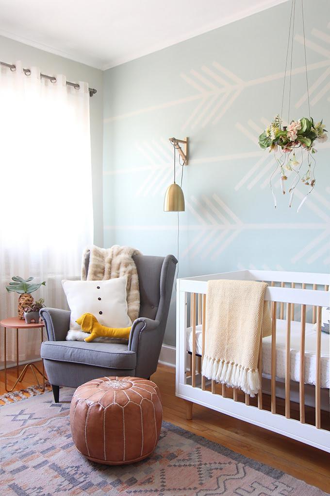 I SPY DIY DESIGN | Baby Girl Nursery Makeover | I Spy DIY ...