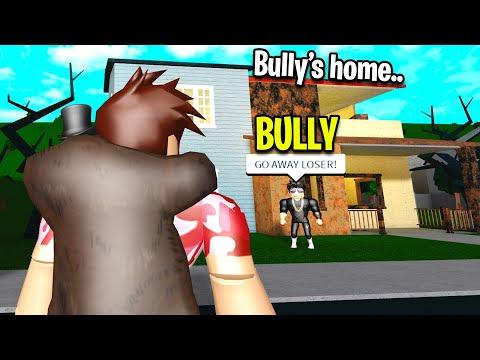 Bully Had A Sad Secret I Changed His Life Roblox - sad homeless roblox videos