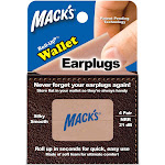 Macks Roll-Ups Wallet Ear Plugs, 4-Pair