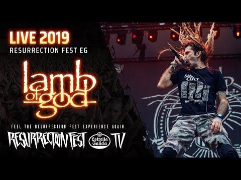 Lamb of God - Live at Resurrection Fest EG 2019