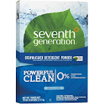 Seventh Generation Dishwasher Detergent, Natural, Free & Clear - 75 oz