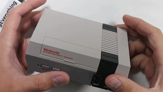 Watch an NES Classic Get Unboxed and Torn Down Because You Can't Buy One