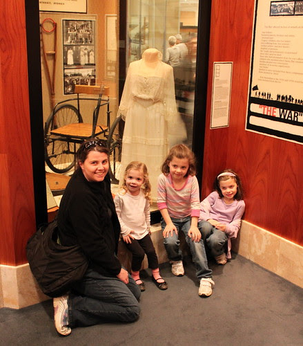 The Girls and I at the War Memorial