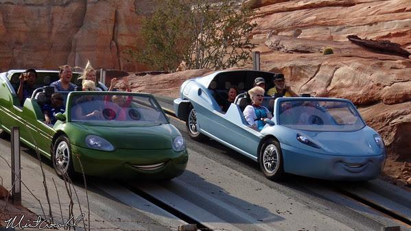Disneyland Resort, Disney California Adventure, Cars Land, Radiator Springs Racers