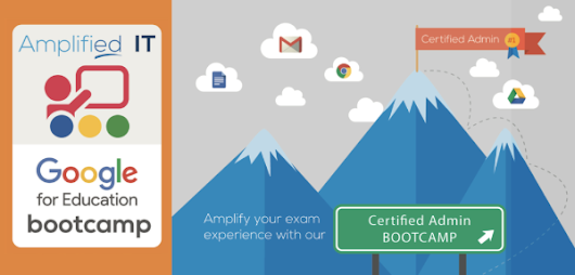 Want to be a Certified Google Admin, get trained and tested in one day!