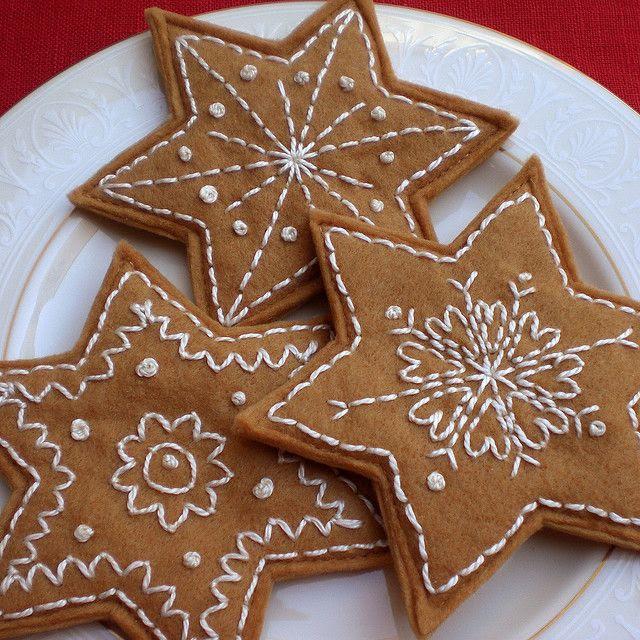 felt cookies