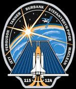 The mission logo for STS-115.