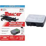 Tomcat Mouse Killer, Child Resistant, Disposable Station - 4 - 1 oz x 4 (112 g) bait stations [4 oz]