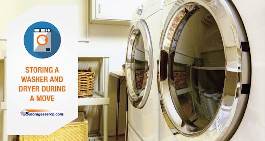 Store a Washer and Dryer While Moving - USstoragesearch.com