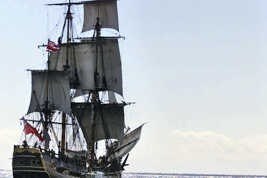 HMS Endeavour: Remains of Captain Cook's Ship Likely Off Rhode Island Coast - NBC News