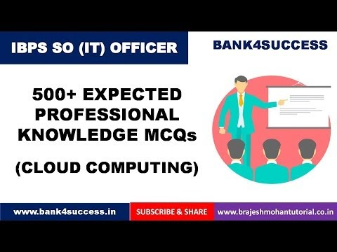 500+ Professional Knowledge Questions for IBPS SO IT Officer PDF Download