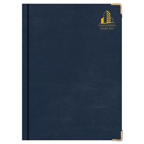 engineering diary blue