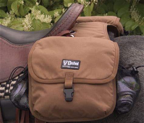 Deluxe Horse Saddle bags with bottle holders, insulated side