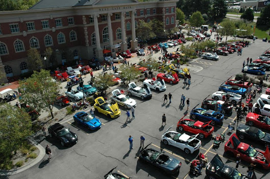 Corvette show helps abused kids, hungry families