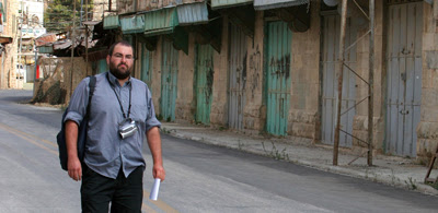 Yehuda Shaul in Hebron