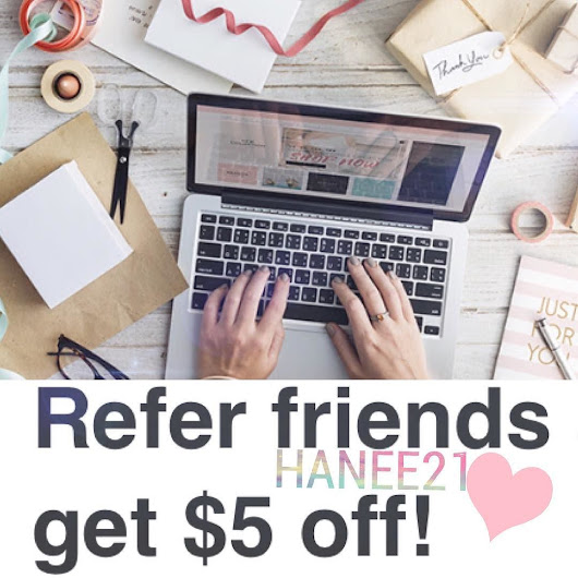 Give your friend $5 OFF first box and you get $5 OFF on anything!✨📦 💗JOIN NOW💗 http://ift.tt/2q0g6OU ✨Boutique Style Box Subscription✨ #fashion #style #accessories #clothing #floral #bag #boho #boutique #freegift #referral #subscription #subscriptionaddict #subscriptionbox #subscriptionaddiction #fashionista #hanee21 #h21blog