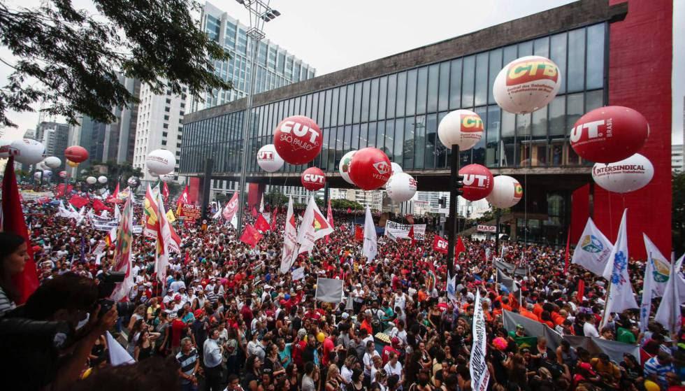 Huelga General Brasil