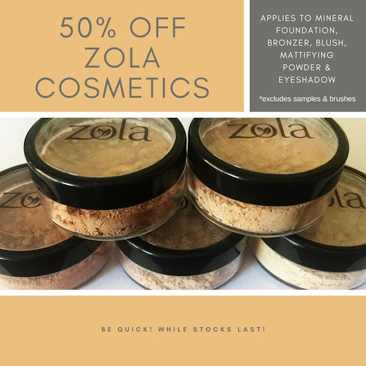 50% Off Zola |10% Off New Products
