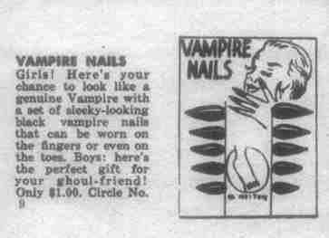 Uñas de Vampiro