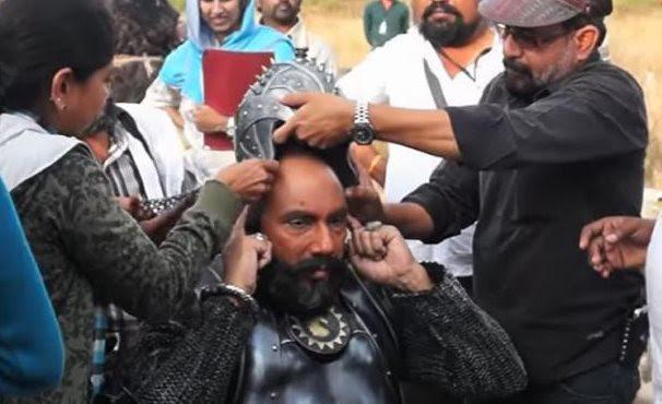 Sathyaraj to set aside over 100 days for 'Baahubali 2'