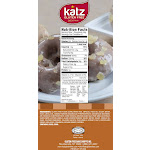 Katz Gluten Free Gingerbread Donuts 10.5 Oz [6 Pack]