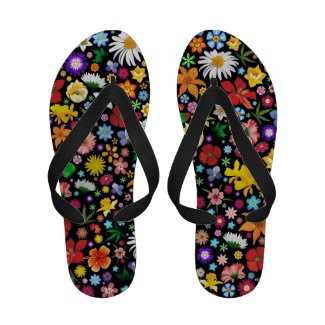 Spring and Summer Flowers > Flip_Flops Flip Flops