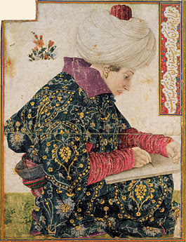 Eastern styles in turn influenced Bellini, as evidenced by his portrait of a seated Ottoman scribe, now in Boston's Isabella Stewart Gardner Museum.